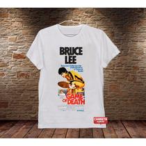 Camiseta Masculina Bruce Lee Game Of Death Filme Cinema Luta