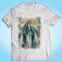 Camisa Nossa Senhora Das Graças - Religiosa Fé Personalizada