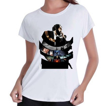 T-shirt Babylook Cinema+ #mais Barato