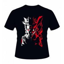 Camiseta Naruto - Camisa Anime Shippuden, Boneco, Uchiha