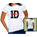 Camisa Teen One Direction 1d Banda Directioner Bandas Pop Fã