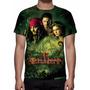 Camisa, Camiseta Disney Piratas Do Caribe O Baú Da Morte
