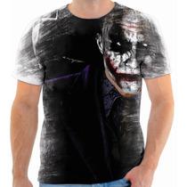 Camiseta, Camisa Batman Vs Coringa 14