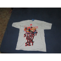 Camiseta Branca Adidas Originals Stunt Boy Tam G
