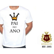 Camiseta Grávida Gestante Pai Do Ano Tamojunto Personalizada