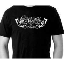 Camisa Banda Bullet For My Valentine - Camiseta Rock
