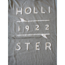 Hollister Camiseta Masc Manga Curta Original Importada Nova