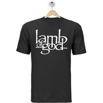 Camiseta Lamb Of God - Camisa Banda Rock