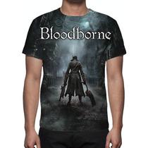 Camisa, Camiseta Game Bloodborne - Estampa Total