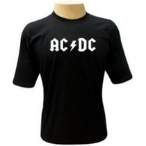 Camiseta Acdc - Camisas Bandas,metallica,nirvana,deep Purple