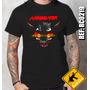 Camiseta De Banda - Annihilator - Rock Metal Death Black