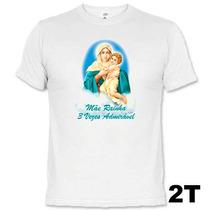 Camisetas Católicas Mãe Rainha 3 Vezes Admirável 636