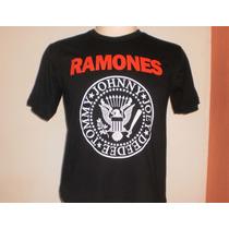 Camisetas Rock Ramones - Frete Grátis!!!