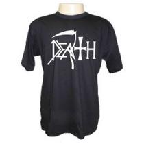Camisetas Divertidas Banda Death Galeria Rock Metal Bandas