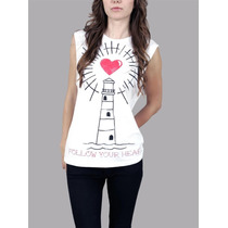 Blusa Follow Your Heart Abbey Dawn By Avril Lavigne