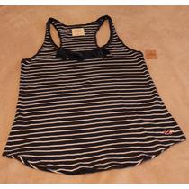 Camiseta Regata Hollister Tamanho M 100% Original