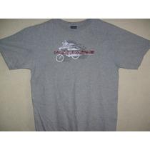 Camiseta Nautica Jeans Cinza M Tamanho Pequeno P 62cm X 50cm