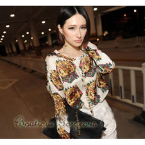 Camisa Blusa Estampa Tigre Luxo Inverno 2013 - Frete Grátis