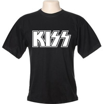 Camisa Camiseta Banda De Rock Kiss Hard Rock