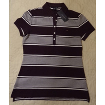 Camisa Gola Polo Feminina Tommy Hilfiger - Promoção!