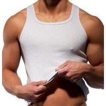 Camiseta Regata Tank Masculina Viscose Com Elastano