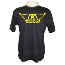 Camisetas Divertidas Aerosmith Bandas Rock Sátiras Engraçada