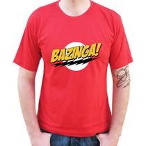 Camisetas Engraçadas - Bazinga