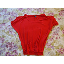 Camiseta Feminina Da Mosaico Tamanho P 36/38