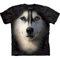 Camiseta Cão Cachorro Husky Siberiano Face - The Mountain