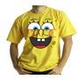 Camiseta Ou Baby Look, Adulto Ou Infantil Bob Esponja
