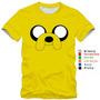 Camiseta Infantil Hora De Aventura Jake Finn