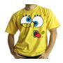 Camiseta Adulto Ou Infantil Bob Esponja Vesgo