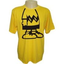 Camisetas Divertidas Panico Charlie Brown Desenhos Engraçada