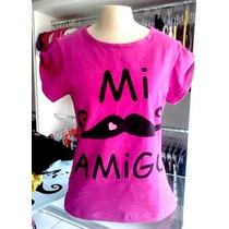 Blusa Bigode Mustache Veste M