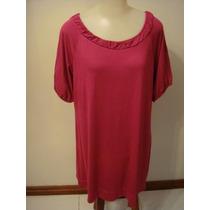 Blusa Viscolycra Rosa Tam. G Moda Maior Mini Vest Request
