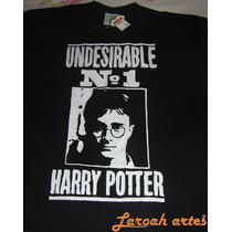 Camiseta Harry Potter Indesejável Filme Lana Camisetas