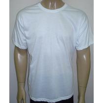 Camiseta Lisa Para Sublimação / Transfer E Silk
