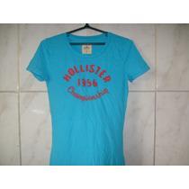 Camiseta Hollister Feminina Tamanho P 60cm X 38cm X 36cm
