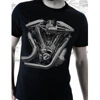 Camiseta De Moto Motor Chopper Cromado Moto Grife Camisetas