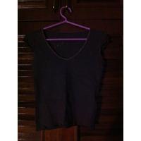 Camisa Marrom - Fotos Frente E Verso - Tam P