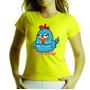 Camiseta Ou Baby Look Adulto E Infantil Galinha Pintadinha
