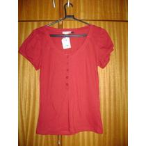 Blusa Feminina Baby Look Shop 126 Tamanho P Nova
