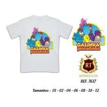 Camiseta Galinha Pintadinha Infantil - Backyardigans Sonic