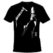 Camisa Metallica - Camiseta James Hetfield, Banda, Rock