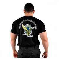 Camiseta Bordada Águia Exercito Brasileiro - Loja Original