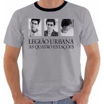 Camisa Camiseta Legião Urbana Quatro Estações Renato Russo