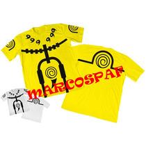 Camisas Camiseta Naruto Rikudou Sennin Amarela Ou Branca