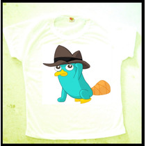 Camiseta E Baby Look Do Perry Ornitorrinco Anime