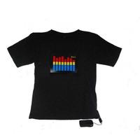 Camisa Led Eletrônica Sensível Ao Som - Frete Grátis