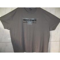 Camiseta Nautica Jeans Tamanho Especial 5xl Ou 90cm X 90cm